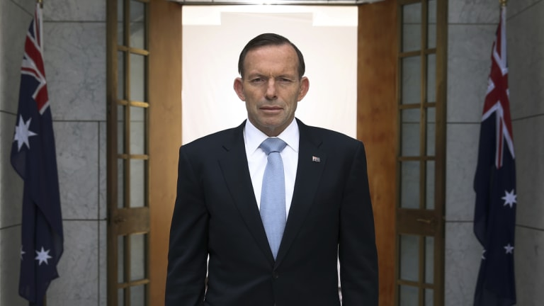 Former prime minister Tony Abbott wants back in cabinet.