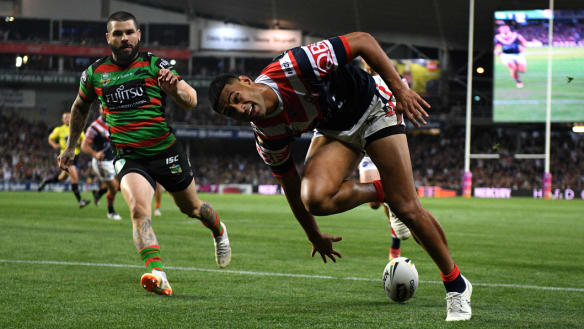 Old rivals Rabbitohs and Roosters square off in last game at SFS