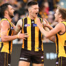 Hawks continue Giants' MCG woes with emphatic win