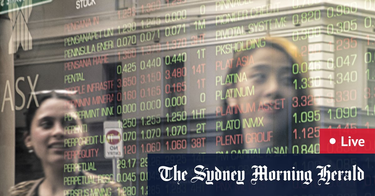 ASX up 0.7%; materials out-perform as steel prices jump – The Sydney Morning Herald