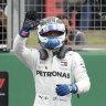 Bottas snares pole, Ricciardo seventh for British GP