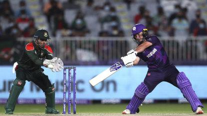 Scotland humble Bangladesh, Oman thrash PNG as T20 World Cup begins