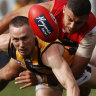 Demons enjoy nourishment but Hawks a 'middle-of-the-road' side