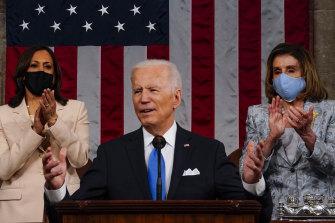 Joe Biden is spending up big.