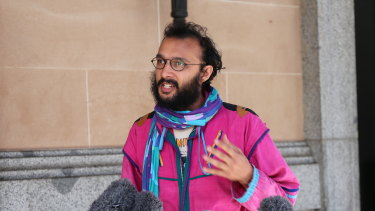 Greens councillor Jonathan Sri says he will contest the fine in court this month.