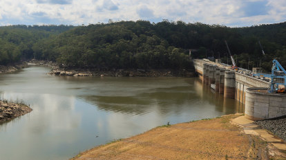 Warragamba shut amid bushfire ash contamination to be reconnected 'this weekend'