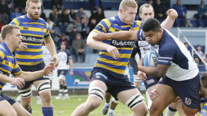 Swinton red-carded for alleged punch as University defeat Eastwood