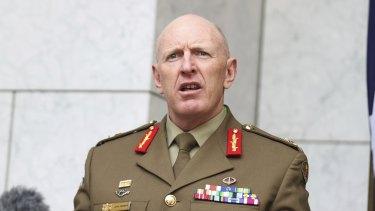 Lieutenant-General John Frewen.