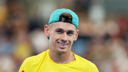 Ghosts of Australian summer pushing de Minaur towards the US Open