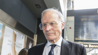 Heydon no longer a barrister, amid allegation he 'used his public standing' to lure woman