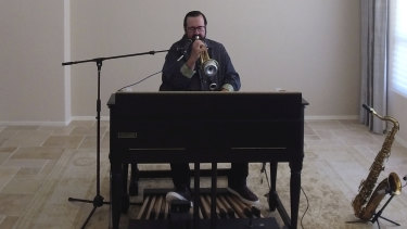 Joey DeFrancesco exclusively recorded in his Arizona home for These Digital Times.