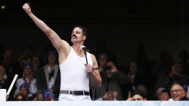 Nick Riewoldt in his Freddie Mercury phase