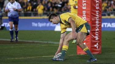 Jack Maddocks scored on debut for Australia in 2018.