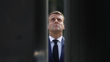 French President Emmanuel Macron is facing difficult elections in 2022.