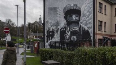 Reminders of the Troubles are never far away in the Bogside, a prominent Irish Republican Army heartland in Londonderry.