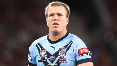 Jake Trbojevic is out of Origin II with a hip injury.