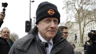 Boris Johnson, pictured in London last week.