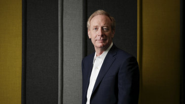Microsoft president Brad Smith has warned the Australian government about its landmark encryption legislation.