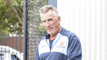 Waratahs coach Rob Penney was sacked on Sunday.
