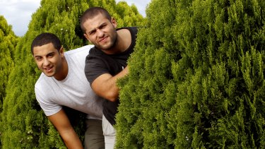 The Saidden brothers in 2014.