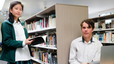 Students at Killara High School are solving major problems in a new hands-on elective.