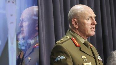 COVID-19 Taskforce Commander, Lieutenant General John Frewen.