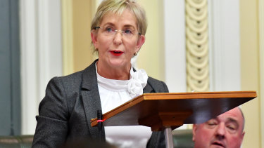 Ros Bates tabled the allegations against the surgeon in Queensland Parliament on Tuesday.