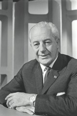 The Prime Minister, Harold Holt.