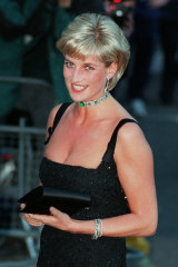 Diana, Princess of Wales, a month before she died in 1997.