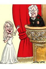 No phantom: Virginia Judge and incoming Opera Australia chairman Glyn Davis.