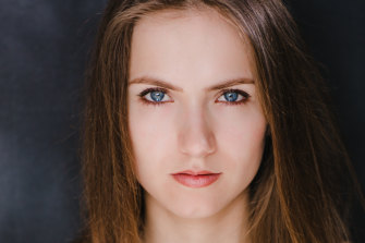 Actress Ekaterina Baker lists 'Fatman', which starred Mel Gibson, on her credits.