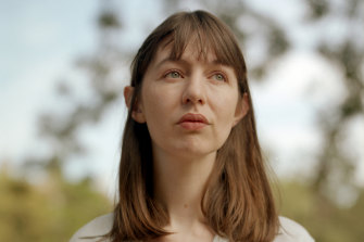 """""""I'm trying not to have a meltdown"""": Sally Rooney in Dublin in July."""