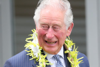 The Prince of Wales visits Wesley Community Centre during his eight-day tour of New Zealand.
