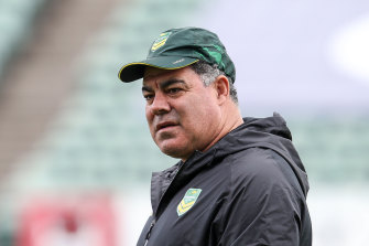 Kangaroos coach and proud Queenslander Mal Meninga does not believe Jason Taumalolo should become a Maroon