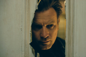 Ewan McGregor inhabits the less subtle end of the spectrum in Doctor Sleep.