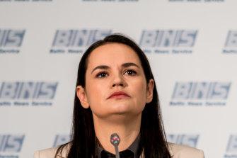 Svetlana Tikhanovskaya, 37-year-old former teacher and stay-at-home mother turned politician, has asylum in Lithuania.