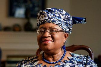 World Trade Organisation Director-General Ngozi Okonjo-Iweala shares Australia's concerns about the European blockade.