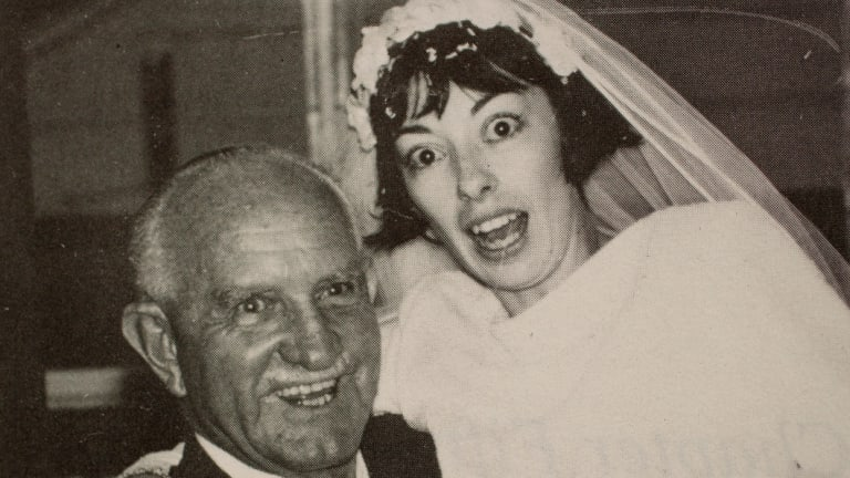 Diane Melloy was 23 and Bob 69 when they married.