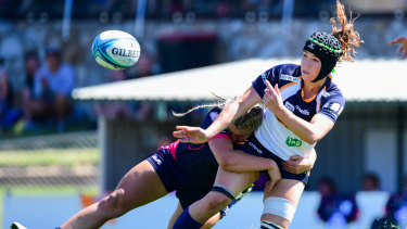 Georgia O'Neill will start at openside flanker for the Brumbies.