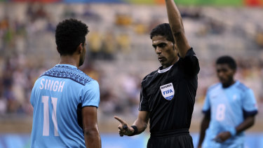 Banned for life: Fahad Al Mirdasi will not officiate at the World Cup in Russia or anywhere after being hit with the toughest of sanctions.