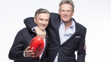 "Eddie McGuire and Sam Newman will take a reduced role in Nine's ""competely different"" Footy Show."