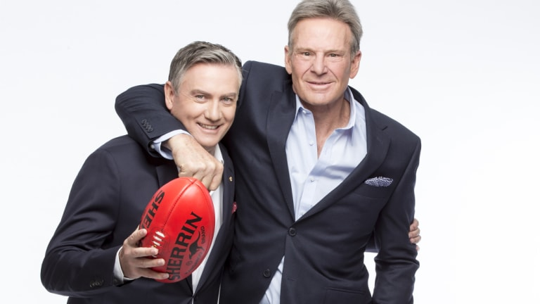 """Eddie McGuire and Sam Newman will take a reduced role in Nine's """"competely different"""" Footy Show."""