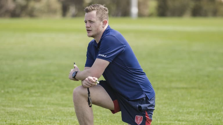 Concussion forced Andrew Heffernan to turn to something new.