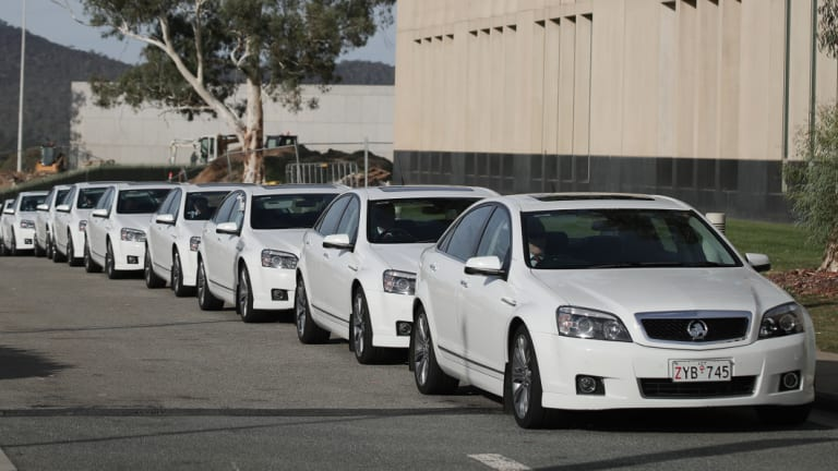 Comcar driver Dimitrios Brendas has been let go after being charged with operating an illegal brothel in Canberra.