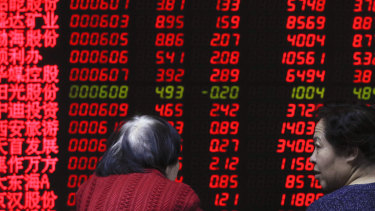 China's sharemarket has made a strong start to the year,