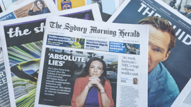 The Sydney Morning Herald secured a strong start to 2019.