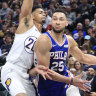 Indiana on the pace as 76ers crash to third consecutive NBA loss