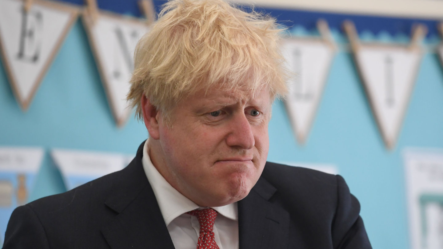 Prime Minister Boris Johnson was overconfident about his nation's ability to withstand the virus.