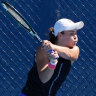 Olympic flame: Barty's burning ambition