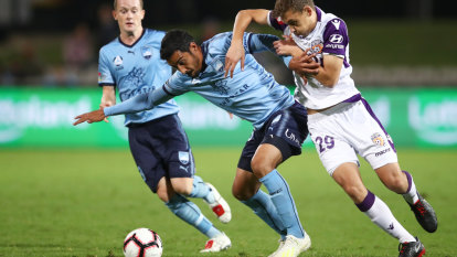 Sydney FC seal vital win against A-League premiers Perth Glory